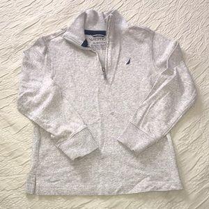 Náutica zip neck long sleeve sweatshirt 7X